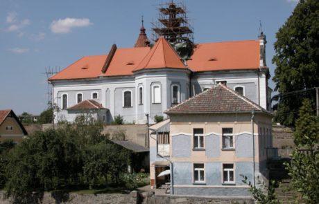 Mirovice kostel